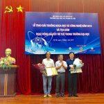 PGS. TS Lục Huy Hoàng đạt giải nhất Giải thưởng Khoa học Công nghệ năm 2019